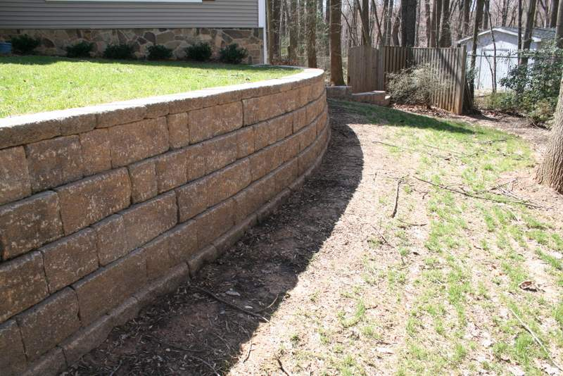Springfield VA Retaining Wall
