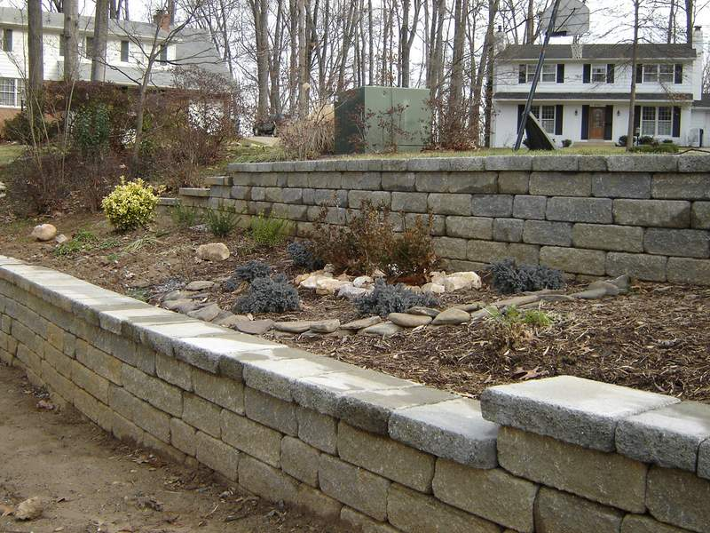 Falls Church VA Retaining Wall